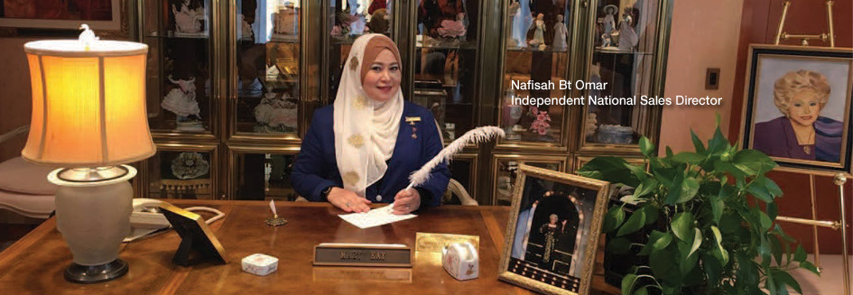 Nafisah Omar First Malaysia National Sales Director