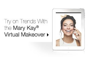 Use the mobile app to try on summer trend looks from Mary Kay®.