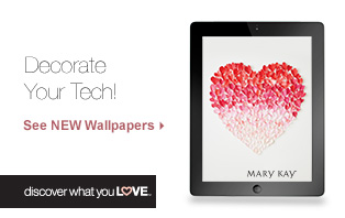 See the NEW wallpapers from Mary Kay