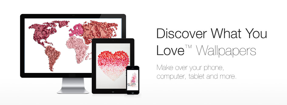 Download the NEW paper heart wallpaper from Mary Kay