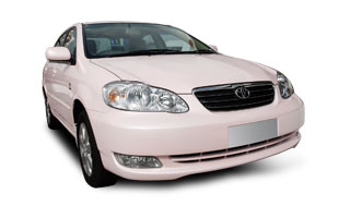 Mary Kay Pink Car
