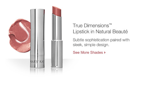 True Dimensions Lipstick in Natural Beaute