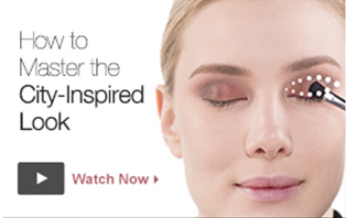 Watch the video from Mary Kay to learn to how to create a city-inspired look.