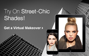 Try on street-chic shades using the virtual makeover from Mary Kay.