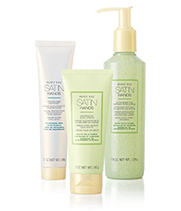 Shop now for the NEW White Tea & Citrus Satin Hands Pampering Set from Mary Kay.