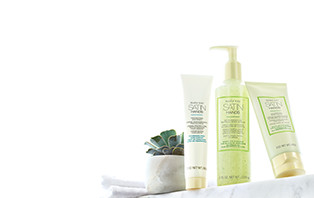 Experience the NEW White Tea & Citrus Satin Hands Pampering Set from Mary Kay