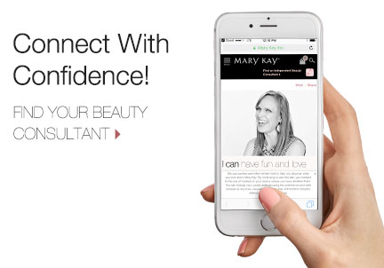 Connect with a Mary Kay Independent Beauty Consultant.